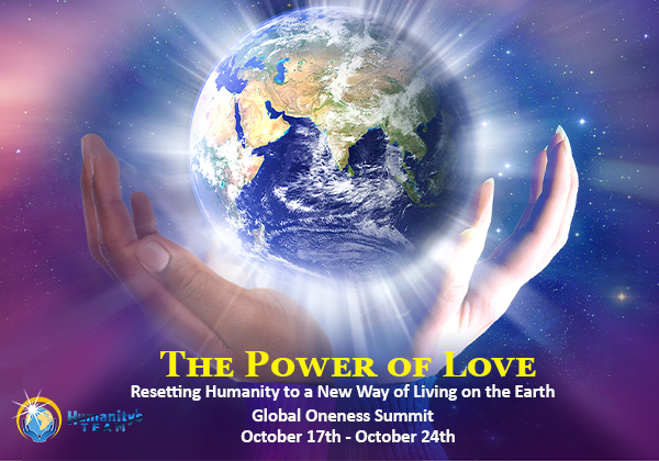 THE POWER OF LOVE - Resetting Humanity to a New Way of Living on the Earth