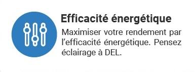 efficacité énergétique, éclairage à LED