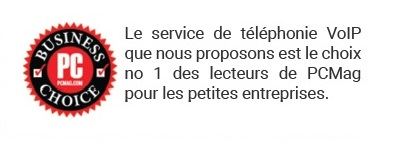 Service de téléphonie #1 selon PCmag