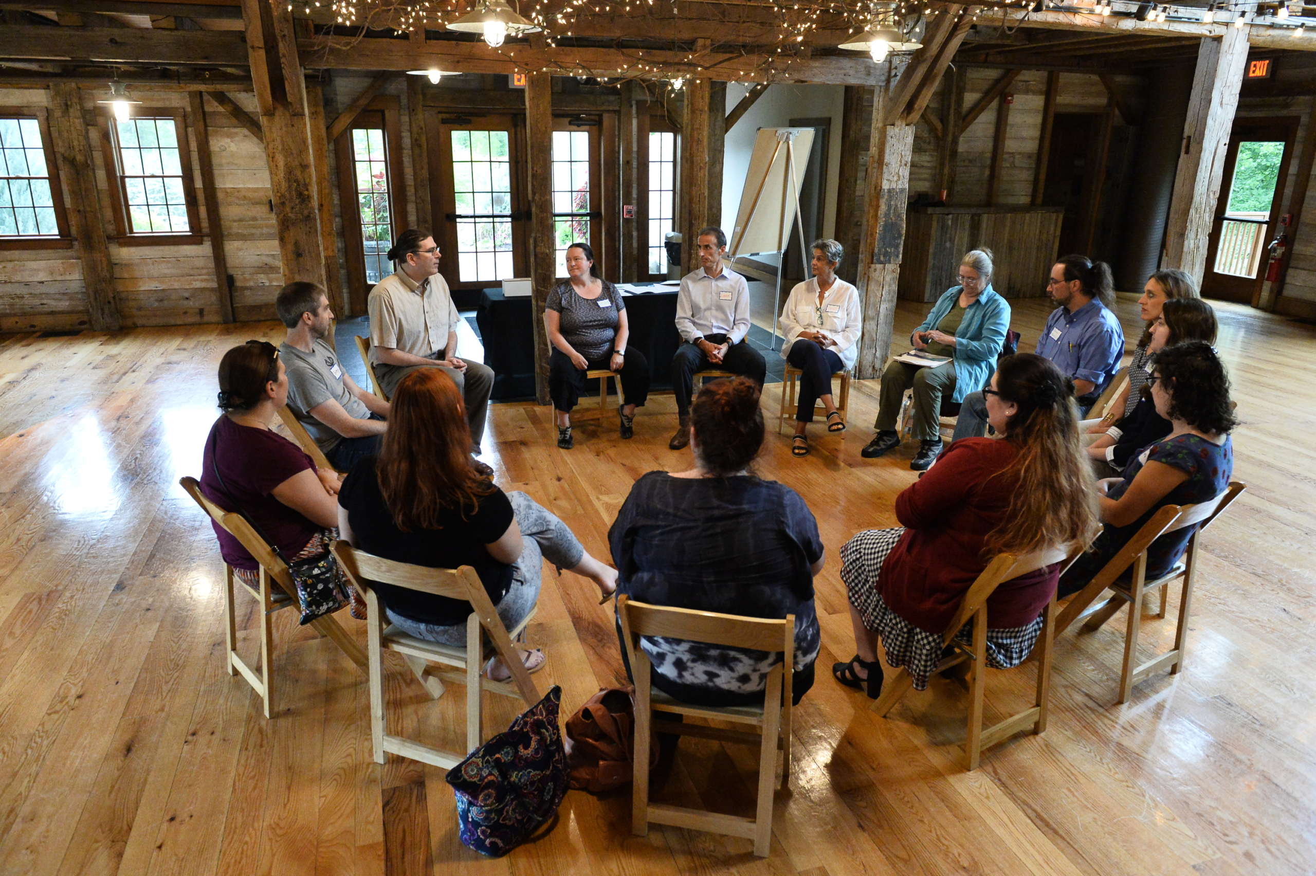 Greenstone Experiential Mental Health, Sociometric Retreat. Summer retreats in barn and at rotary club in Upstate New York. Capital Region's finest trainers in business consultation and emotional intelligence.