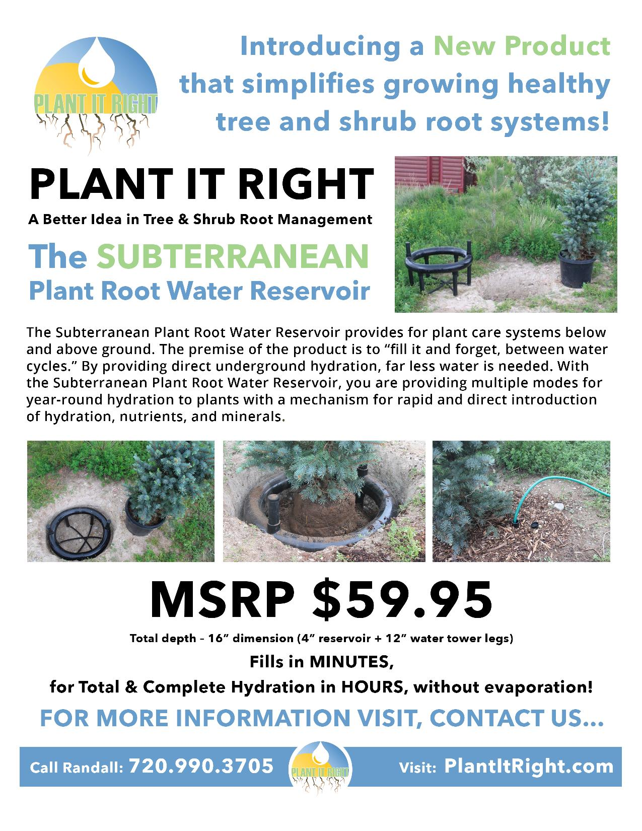 Plant It Right Flyer