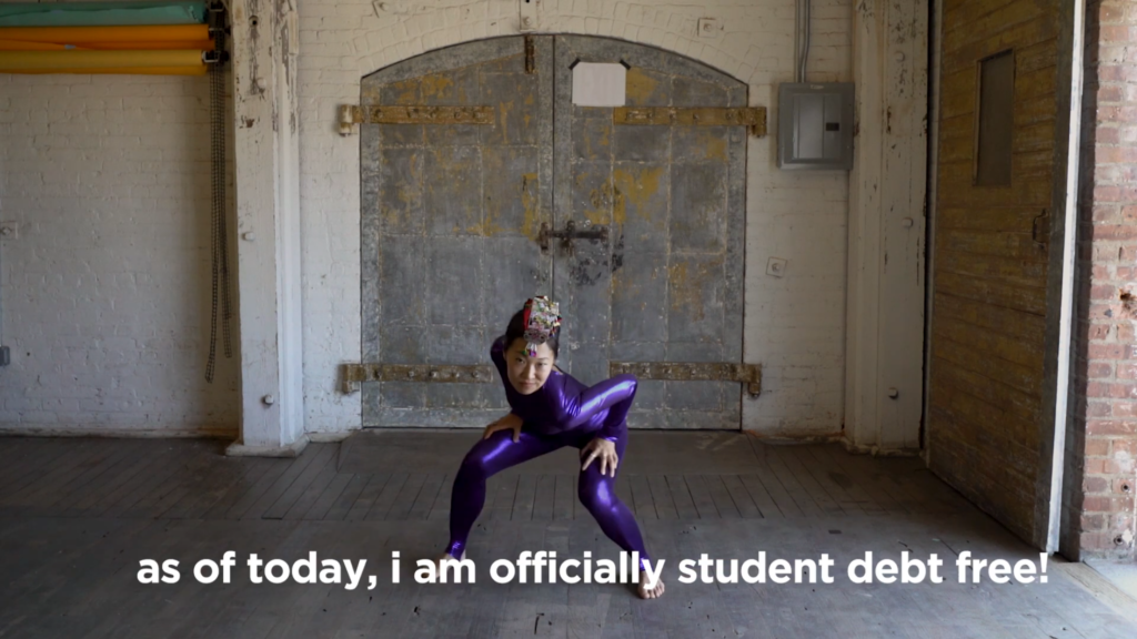 She Paid Off Her Student Loans, Made a Video to Celebrate. Must Watch.