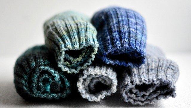 wool socks photo