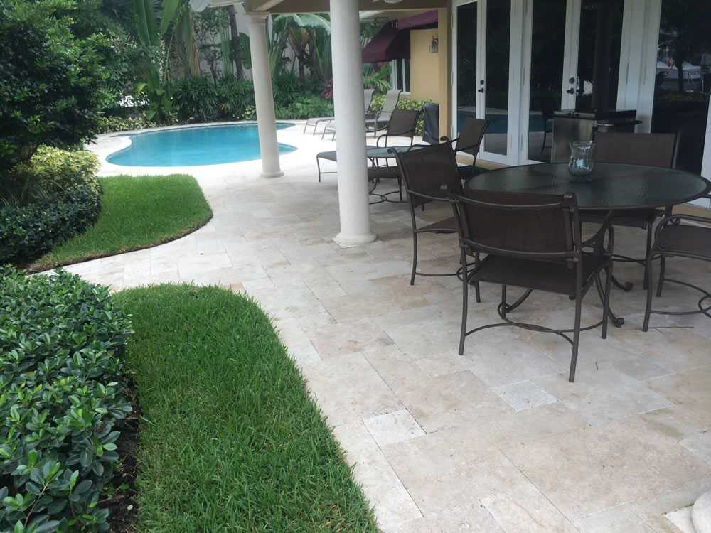 Basic Pool and Paving After image
