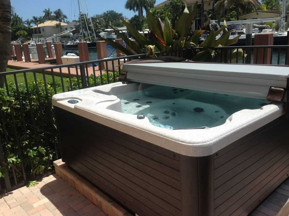 Portable Spa Installation after image