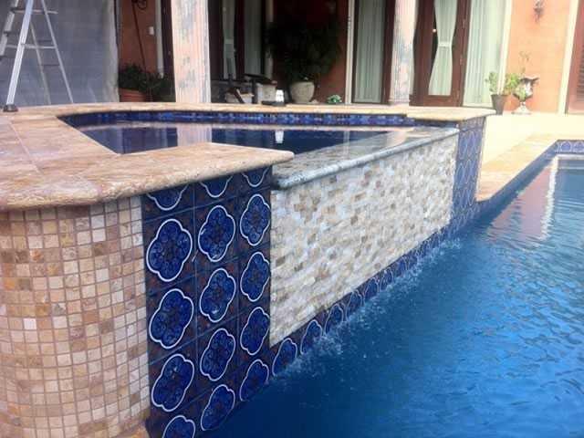 Refinish of pool