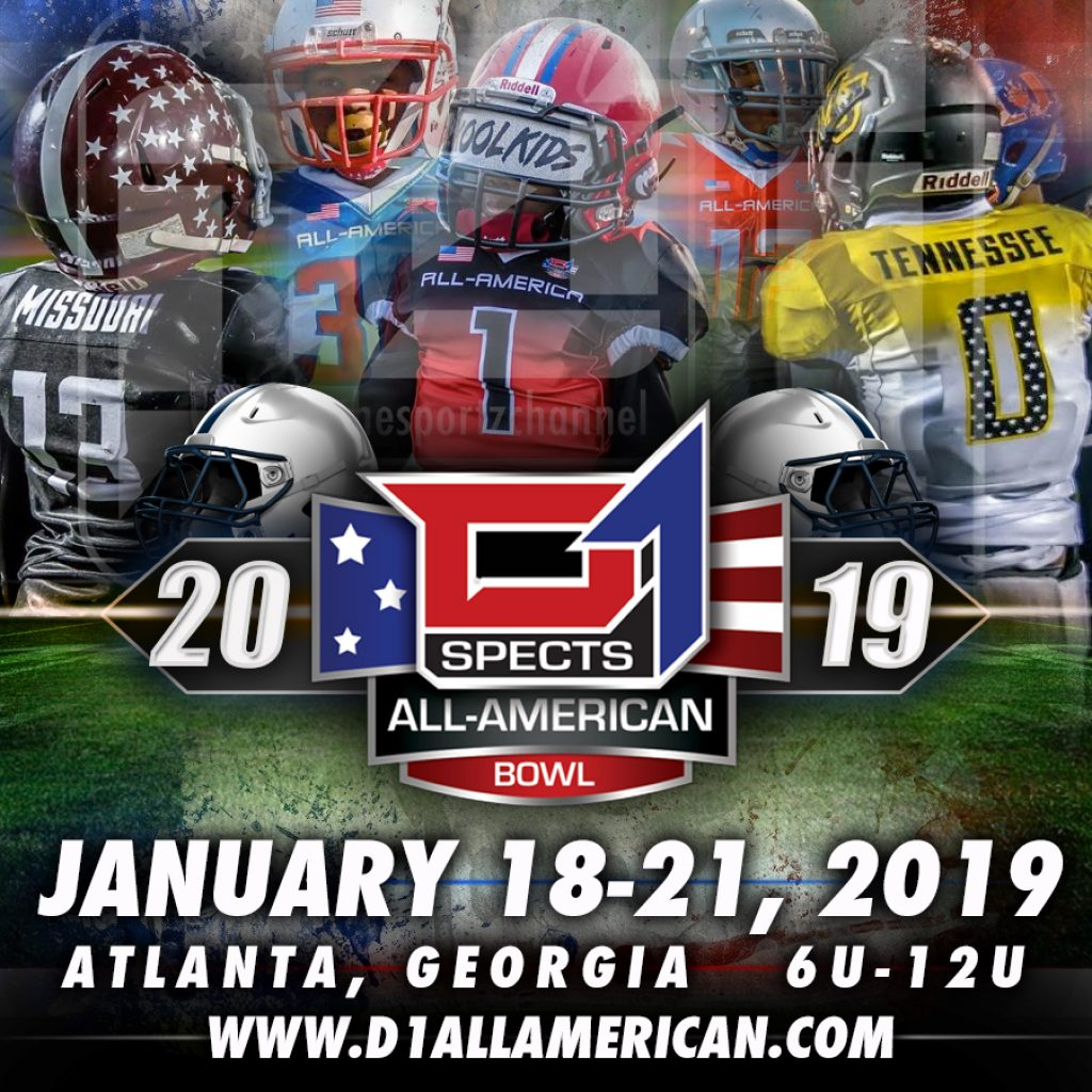 5th Annual D1 All American Bowl Registration Now Open!