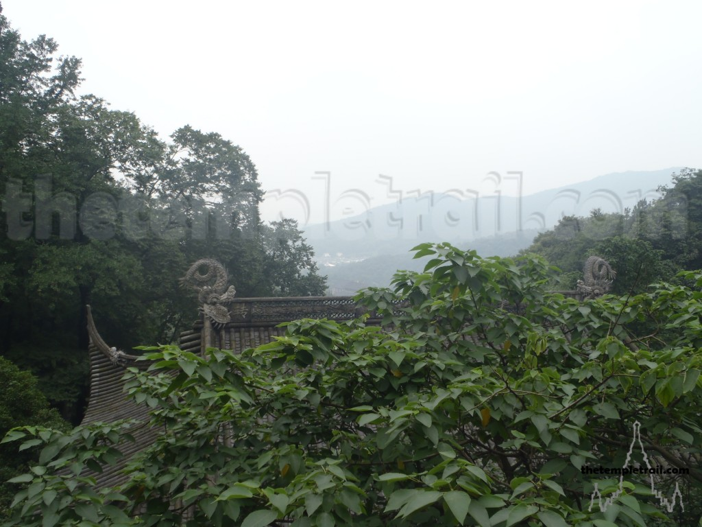 View from Taoguang Temple