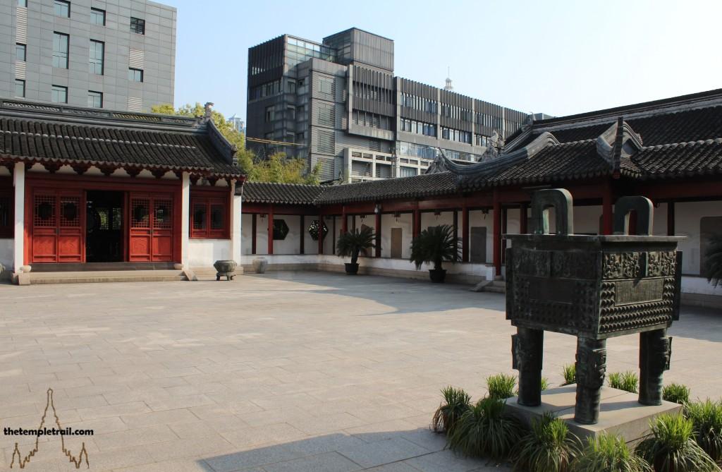 Wen Miao Minglun Hall Courtyard
