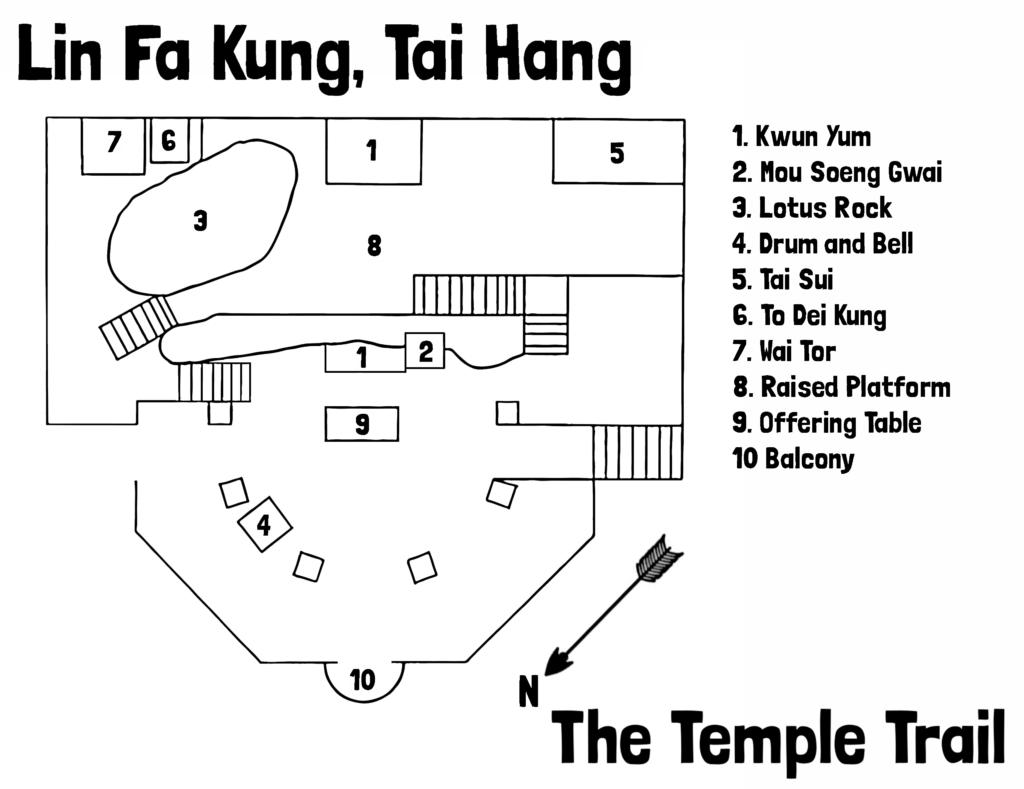 Lin Fa Kung Map