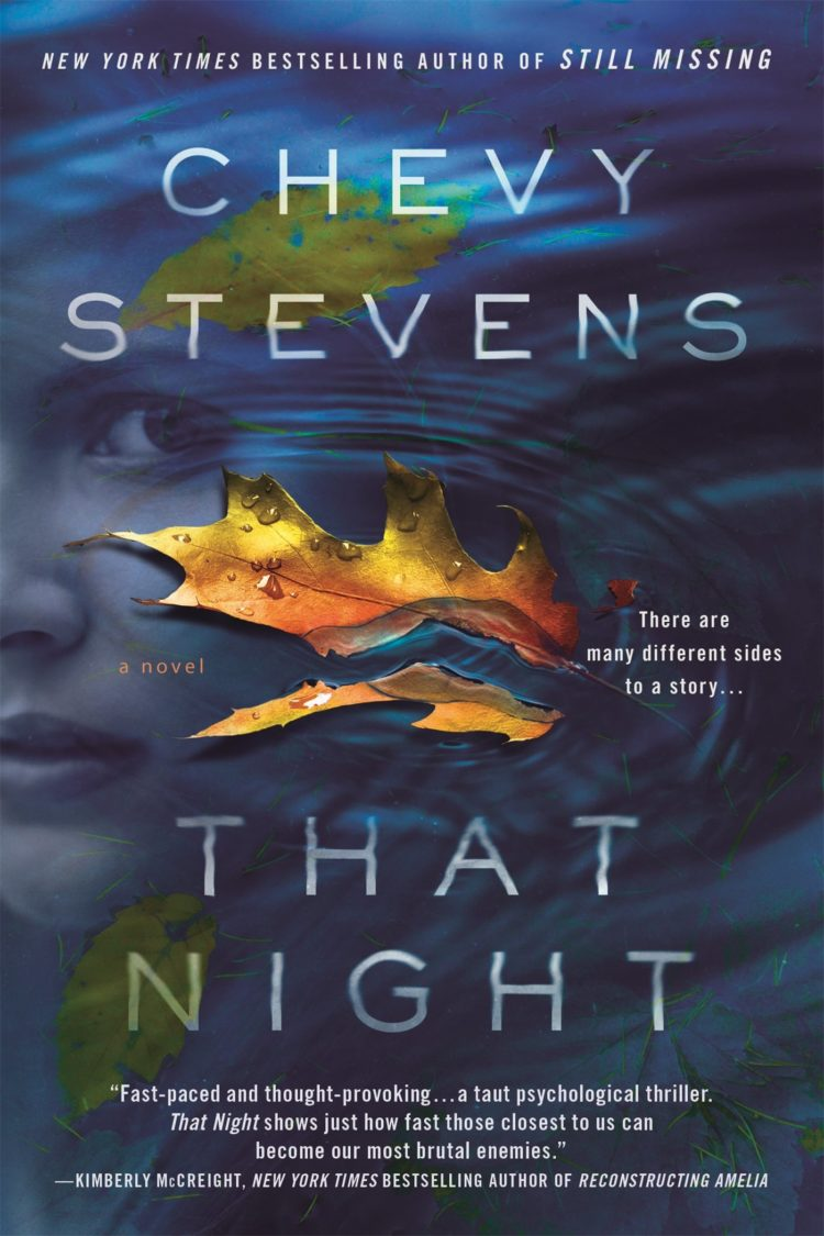 Book cover for That Night by Chevy Stevens