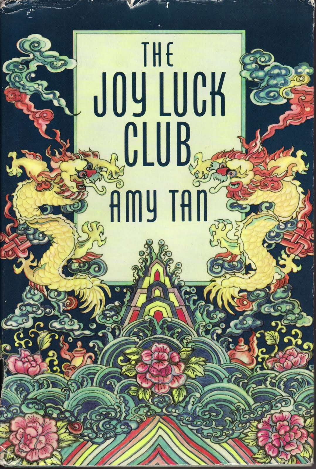 Book cover The Joy Luck Club by Amy Tan