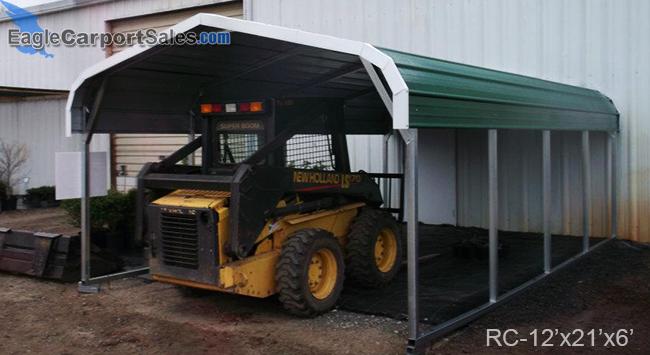Regular Style Single Metal Carport