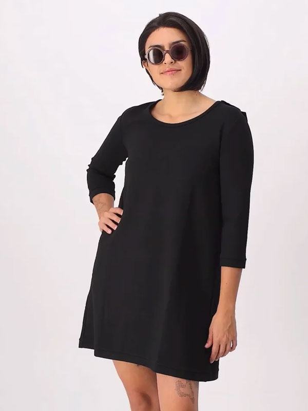 Andrea Fold-Over Dress