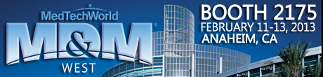 MD&M West 2014 Anaheim, CA | Command Medical Products | Booth 2175