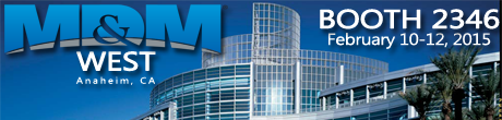 Command Medical Products | MD&M West 2015 | Anaheim, CA | February 10 - 12, 2015