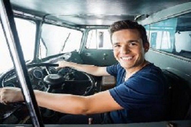 teenage truck driver