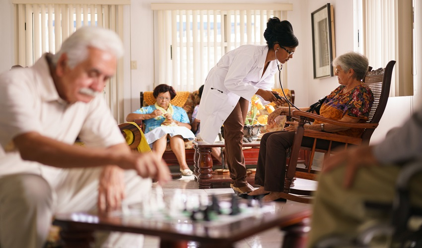 Nursing home facility contagious infections