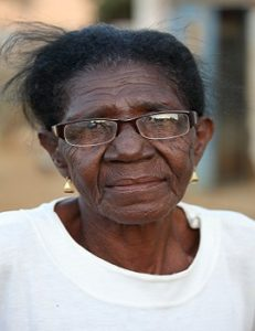 Elderly-woman nursing home neglect