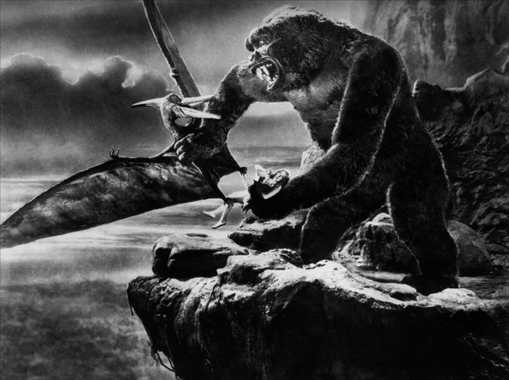 The original and still the best - Willis O'Brien's King Kong (1933).