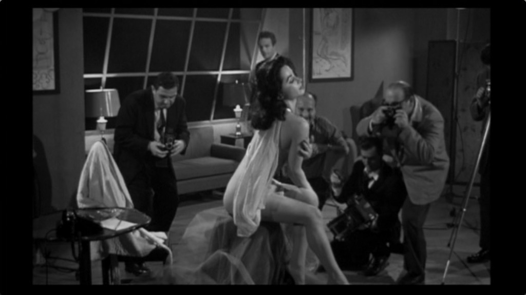 Adele Lamont as Doris Powell in The Brain That Wouldn't Die's recently uncovered nude scene.