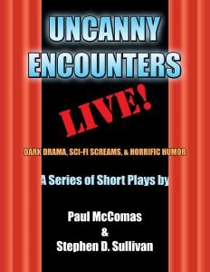 UNCANNY ENCOUNTERS LIVE cover 34per