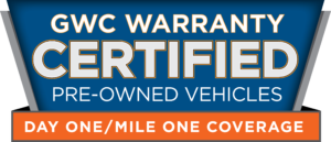 Millstone Motorsports offers GWC Warranties on our Certified Pre-Owned Vehicles for Sale in Clarksburg, NJ