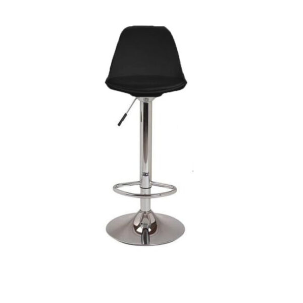 Banqueta Regulable Eames Tulip Negra