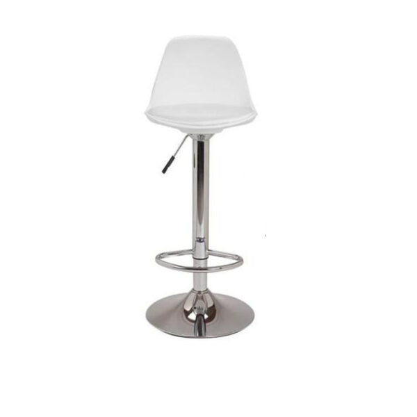 Banqueta Regulable Eames Tulip Blanca