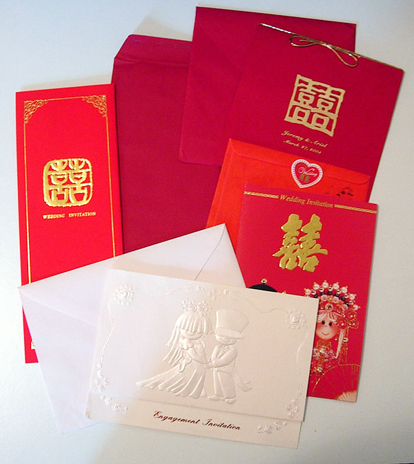 an image of Chinese Wedding Invitations.