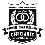 IAPWO - International Association of Professional Wedding Officiants Logo