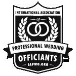 IAPWO - International Association of Professional Wedding Officiants Logo