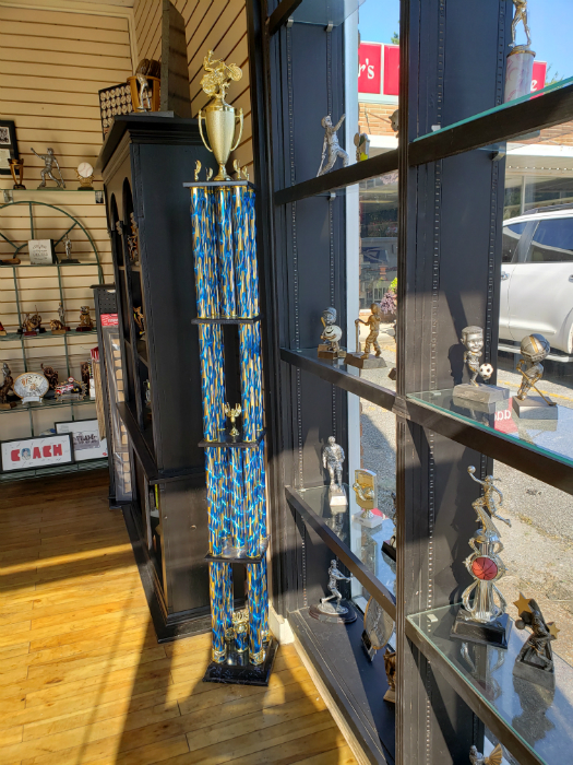 6 Foot Tall Motorcyle Racing Trophy