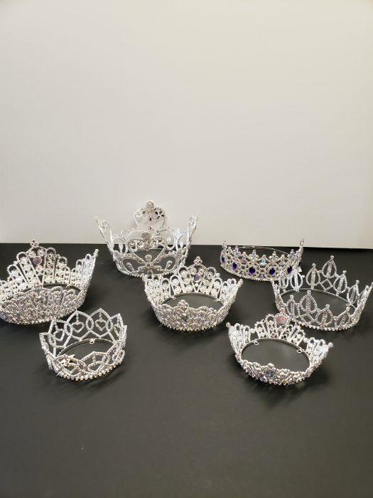 We are very particular about our crowns and only buy the most elegant.