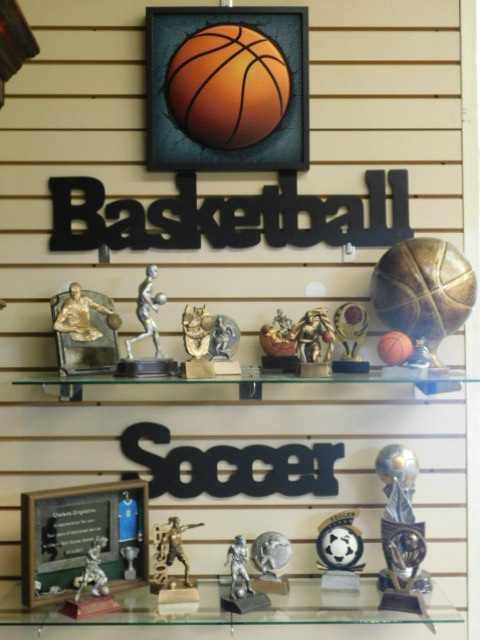 Resin Awards available for all major sports