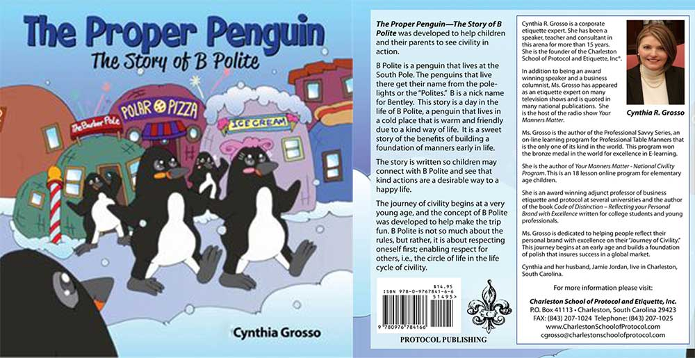 The Proper Penguin Etiquette and Manners for Kids