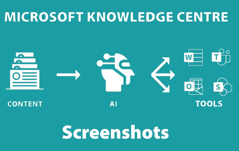 Microsoft Knowledge Center – Project Cortex – Screenshots