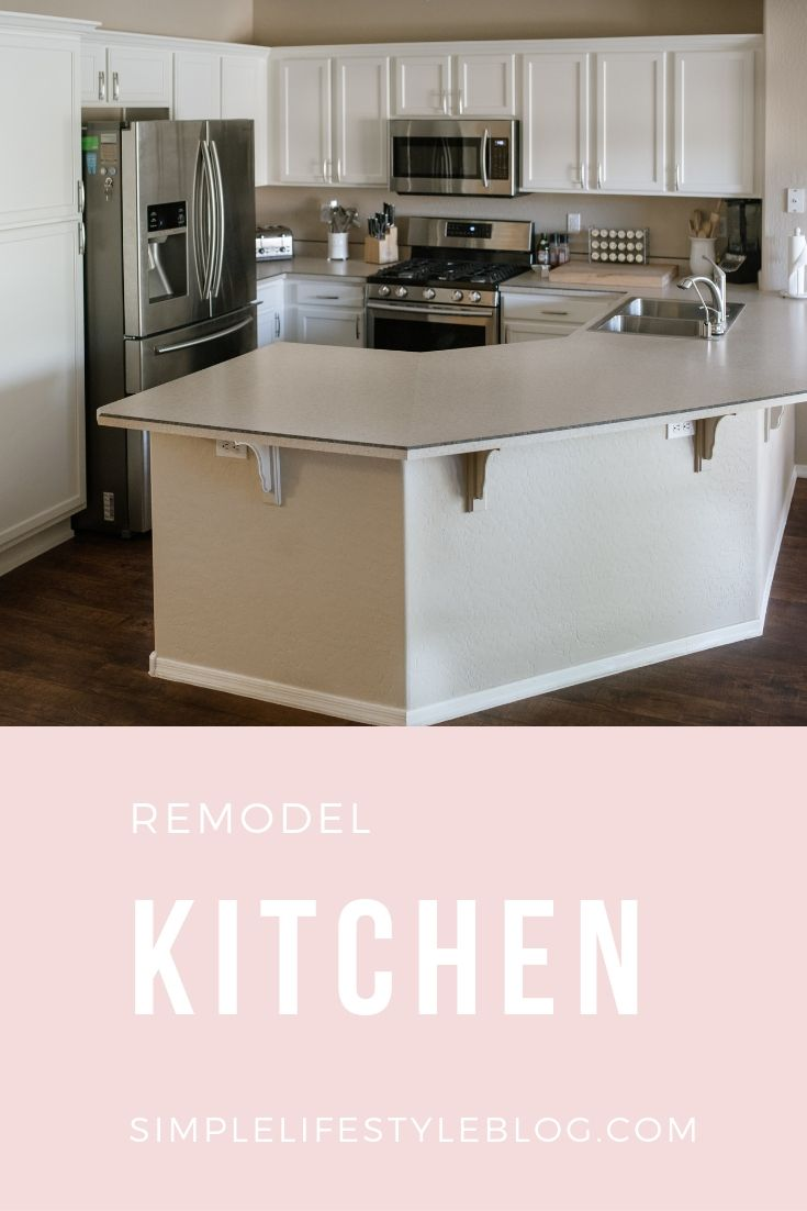 Kitchen Remodel by Simple Lifestyle Blog