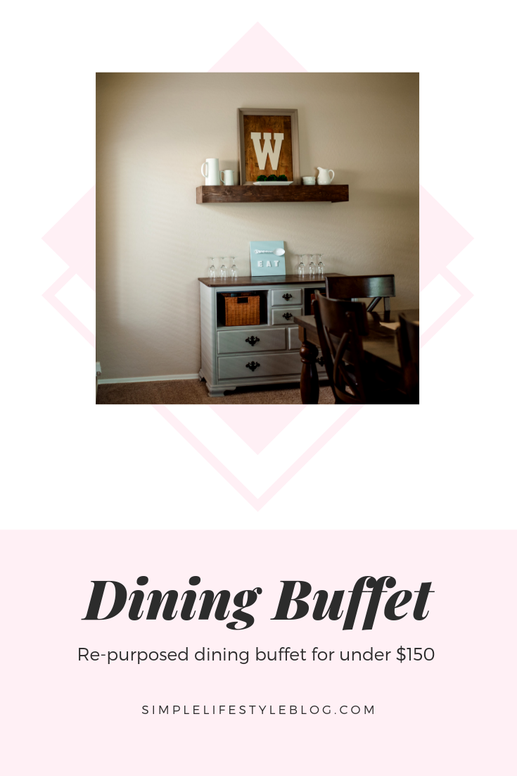 Dining Buffet by Simple Lifestyle Blog