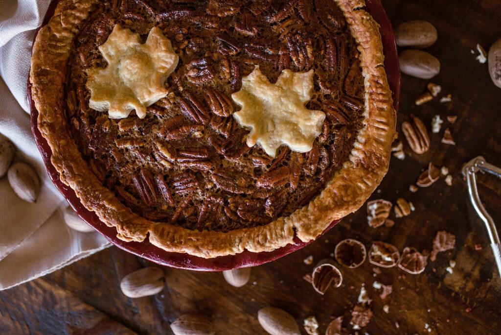 Double Filling Pecan Pie