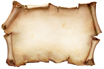 Image of a blank Scroll