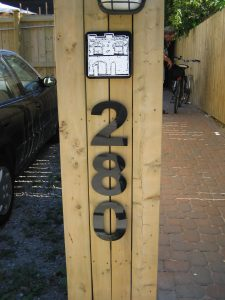 Sign for Sound Times at 280 Parliament