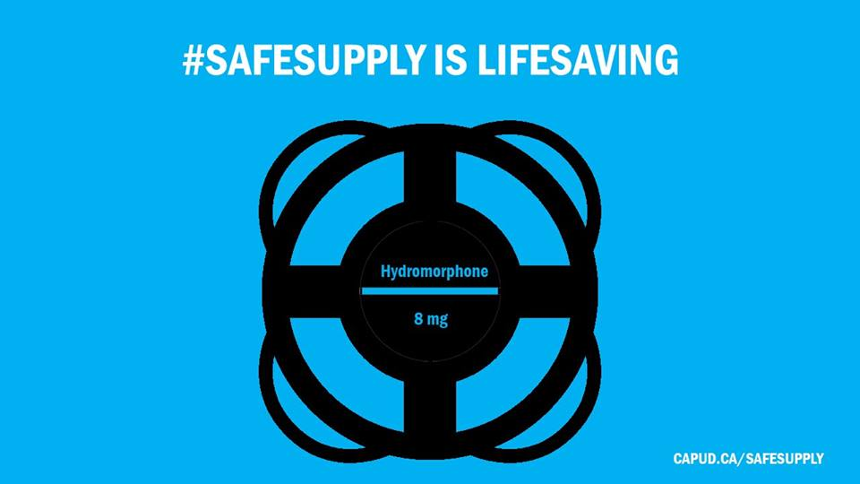 #Safesupply is lifesaving
