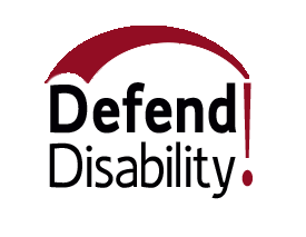 Defend Disability Logo!