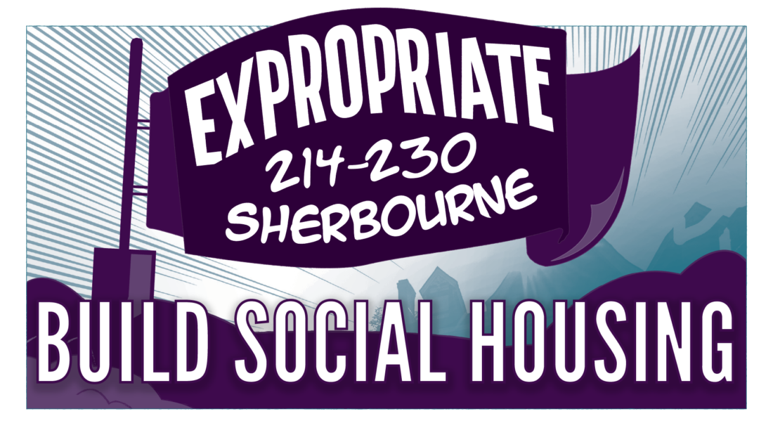 Image: Expropriate 214-230 Sherbourne Build Social Housing