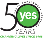 50 Years of yes. the word yes is inside the zero of 50.