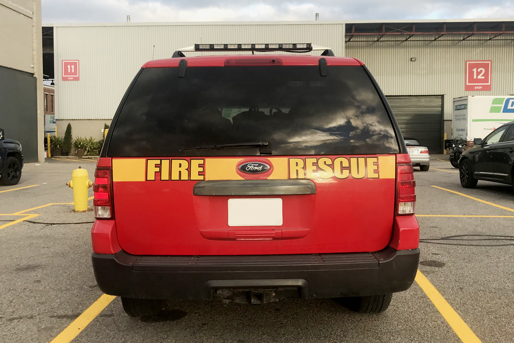 Car 8 - Fire Chief Vehicle 2