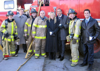 Cast from F.B.Eye Ted Atherton, Deanne Bray, Marc Gomes, Yannick Bisson