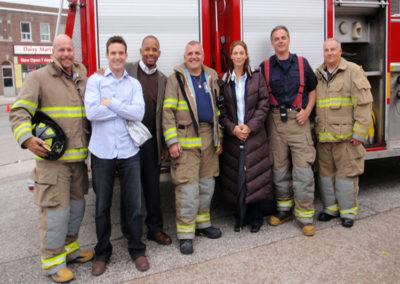 W13 Cast-Eddie McClintock, Michael Boatman, Joanne Kelly