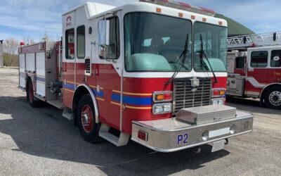 P2 HME Pumper Truck